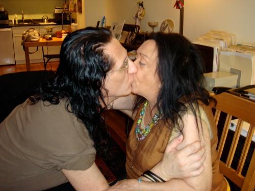 Judith Malina and I (NY)