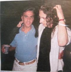 Caetano Veloso and I, 2001 Rio