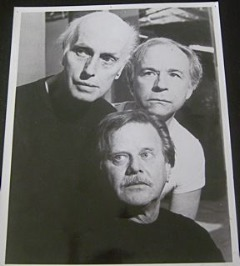 Julian Beck, George Bartenieff and Fred Newman (Beckett Trilogy  1985)
