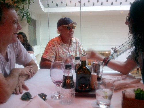 Didi Botelho, Ney Latorraca and I planning.