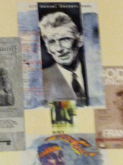 And Beckett watching over everything