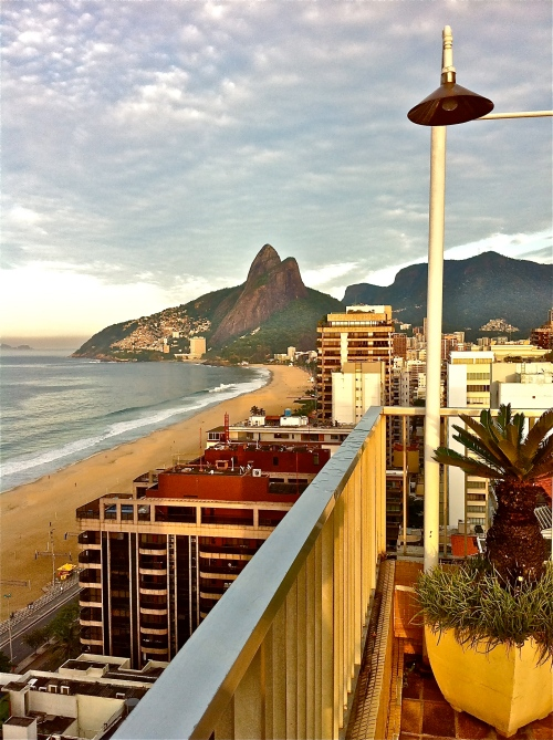 Ipanema beach and...