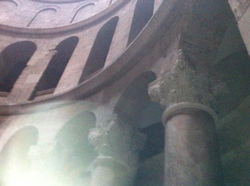 Inside the Saint Sepulcre