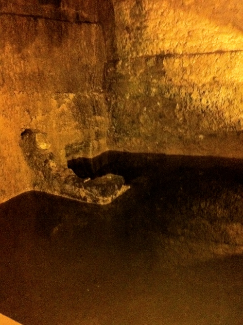 Under the Wall: Herod's cisterns