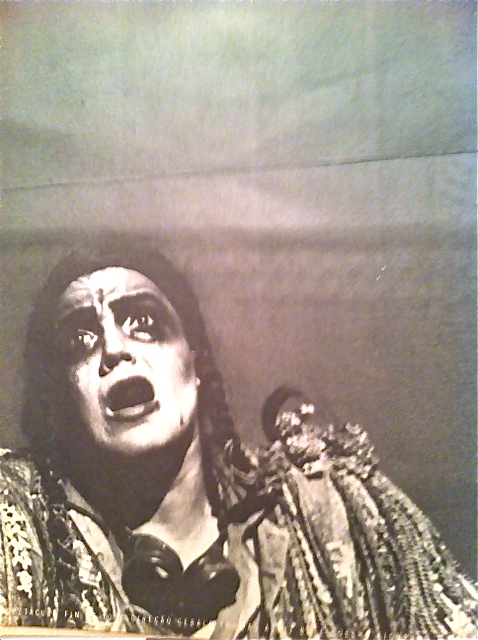 Bete Coelho as Hamm in my production of Beckett's Endgame in 1990