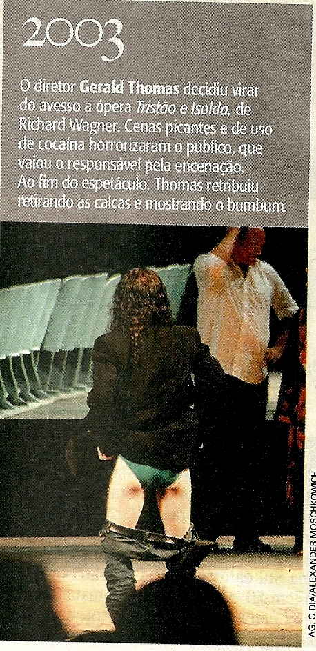 """Mooning the Nazis in Rio after my staging of Wagner's """"Tristan und Isolde"""""""