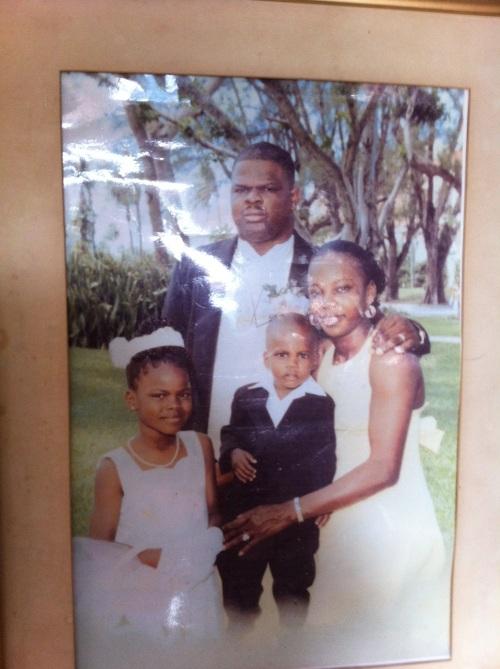 The Bain Family portrait