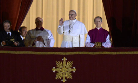 Jorge Mario Bergoglio The New Pope FRANCIS  from Argentina - not  plagued  by scandals !!