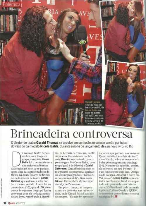 Revista Quem - Abril 2013