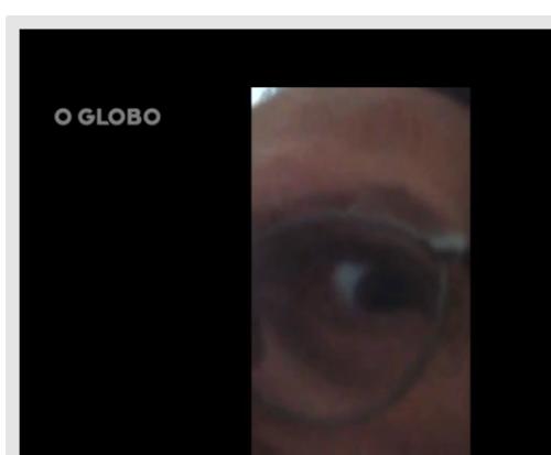 My eye ! Not the spying eye - The Snowden / Orwell eye !