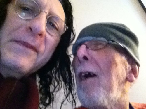 Peter and me early 2013