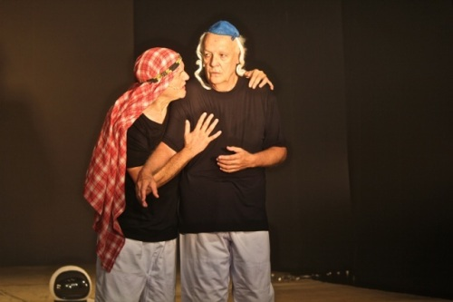 Edi Botelho e Ney Latorraca arrasando