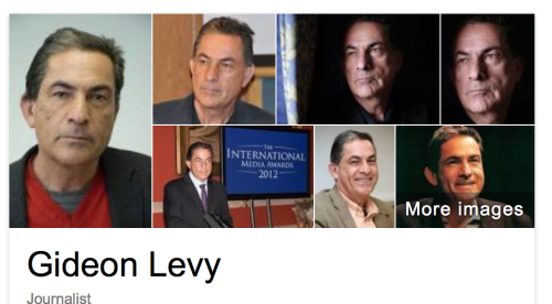 Gideon Levy - I entirely agree with you !