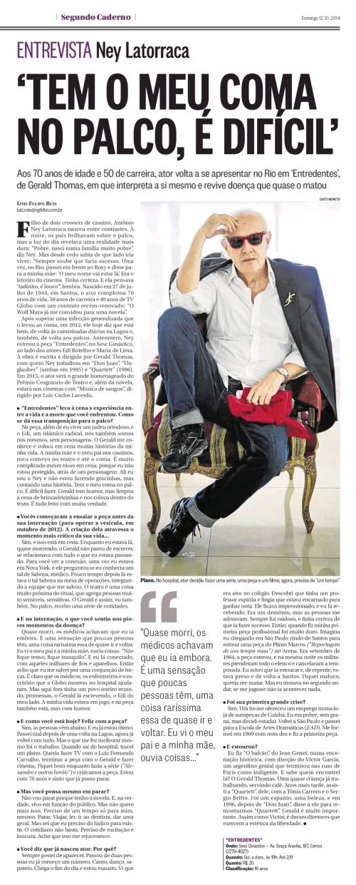 Infoglobo - O Globo - 12 out 2014 - Page #50_0001