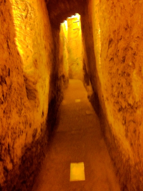 Tunnel under the Wailing Wall, Jerusalem