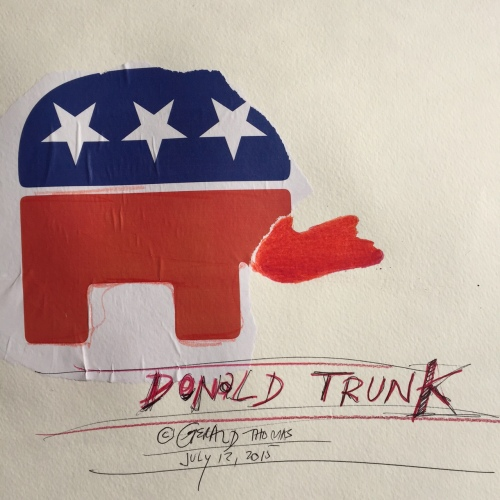 Donald Trunk (copyright Gerald Thomas)