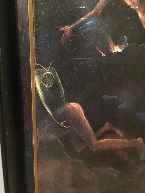 Bosch original at the Academy of Fine Arts, Venice