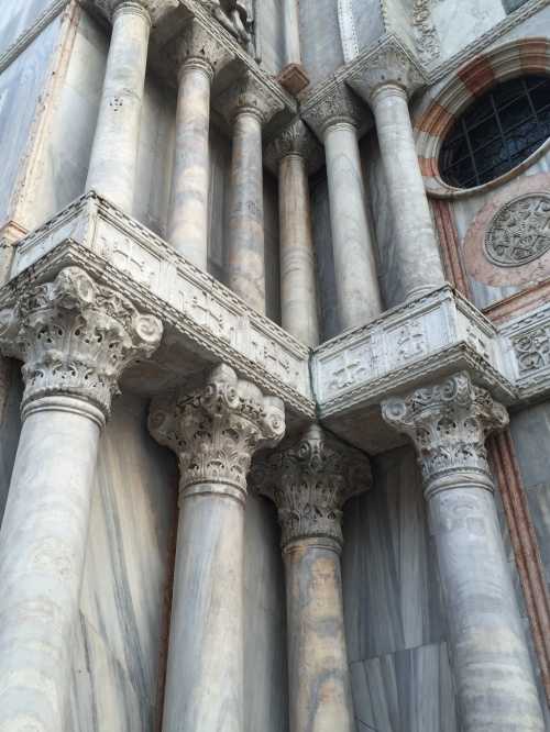 Detail - columns of the Piazza San Marco