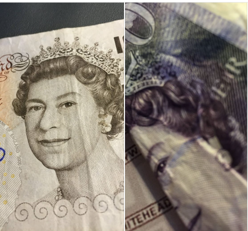 £10 and £20 GBP sterling